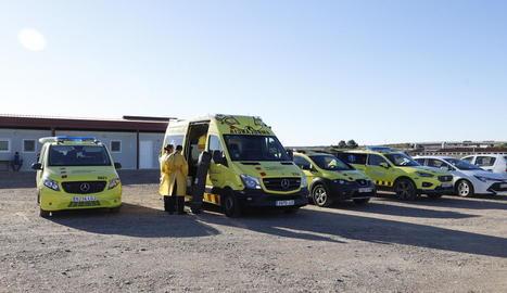 Sanitaris van fer tests divendres als aïllats d'Alcarràs i Seròs.