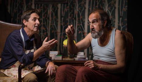 Ramon Molins i Jesús Agelet protagonitzen 'Polzet'.