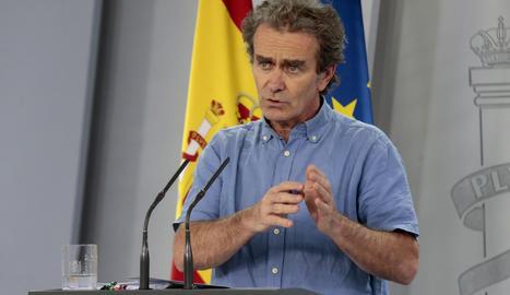 El director del Centre de Coordinació d'Emergències i Alertes Sanitàries, Fernando Simón.