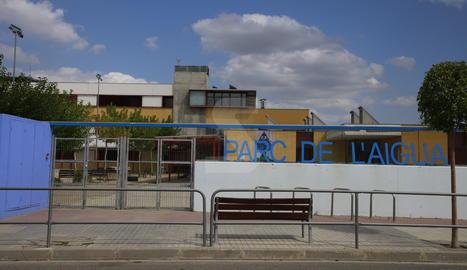 L'escola Parc de l'Aigua de Lleida.