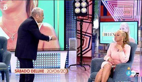 Jorge i Belén, en plena discussió.