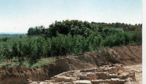 Restes de la Vil·la Romana al municipi de Corbins.