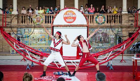 Espectacle de circ amb Mortelo & Manzano, el 4 de juliol a Altet.