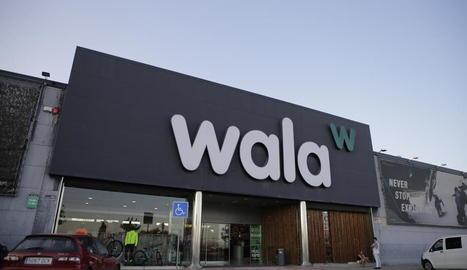 Imatge de la façana del Wala a Lleida.