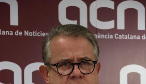 El president del Col·legi de Metges de Barcelona, Jaume Padrós.