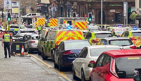 Els efectius policials van arribar a la zona on es va produir l'atac en dos minuts.