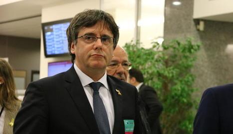 Carles Puigdemont dóna suport a la proposta de la Crida.