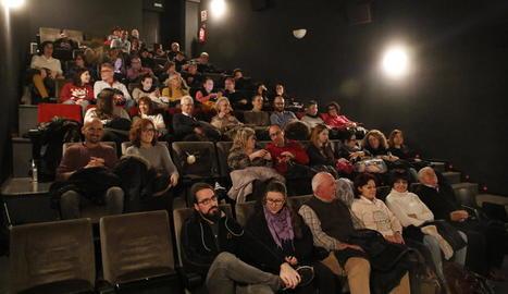 Imatge d'arxiu de la sala principal del Funatic de Lleida, amb aforament per a 66 espectadors.