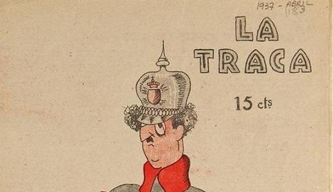 Una de les caricatures de 'La Traca'.