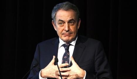 José Luis Rodríguez Zapatero, expresident del Govern espanyol.