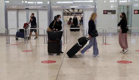 Zona d'arribades de la Terminal 4 de l'Aeroport de Madrid-Barajas Adolfo Suárez.