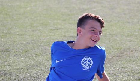 El jugador de Claravalls Nil Calderó s'incorporarà la temporada vinent al Cadet del Barça.