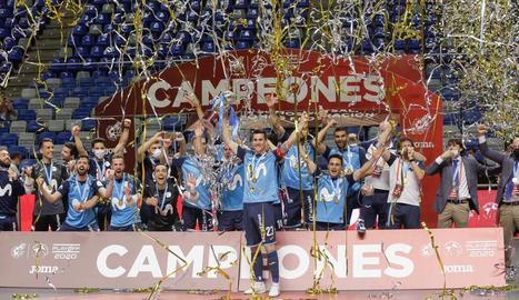 El Movistar Inter es proclama campió de lliga davant el Valdepeñas