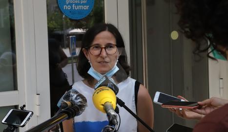 La delegada de Salut a Lleida, Divina Farreny.