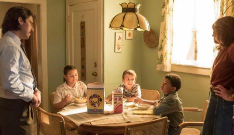 La família protagonista de la sèrie és un matrimoni amb tres fills.