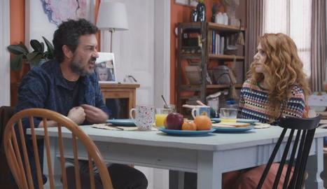 Una escena de la sèrie que emet TV3 a la sobretaula.
