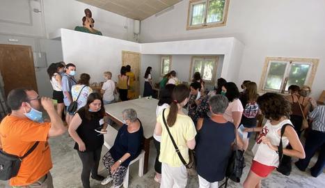 Guissona va mostrar el centre als familiars d'usuaris.
