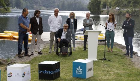 Presentación de la campaña 'El riu ens activa'