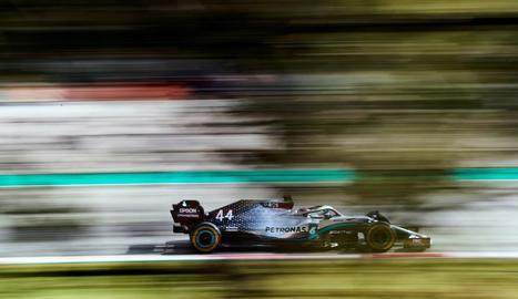 El pilot britànic Lewis Hamilton, actual campió del món, en imatge d'arxiu.