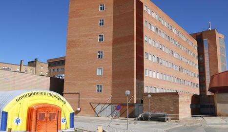Els hospitals de Lleida tenen 38 ingressats per covid-19, quatre d'ells a l'UCI