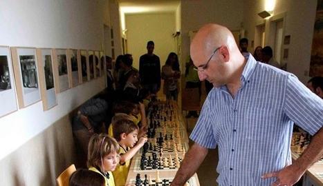 Josep Oms, Gran Mestre Internacional d'Escacs