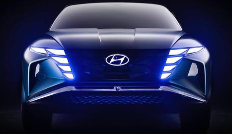 Hyundai Motor ha llançat un nou vídeo del Vision T, revelat per primera vegada al Saló Internacional de l'Automòbil de Los Angeles la tardor passada.