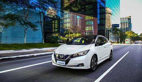 Nissan va liderar l'any passat el mercat de vehicles elèctrics a Espanya amb un total de 2.191 unitats,
