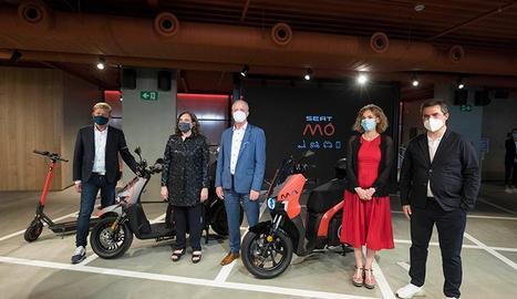 La nova marca impulsarà l'estratègia de mobilitat urbana centrada en productes i serveis de micromobilitat.