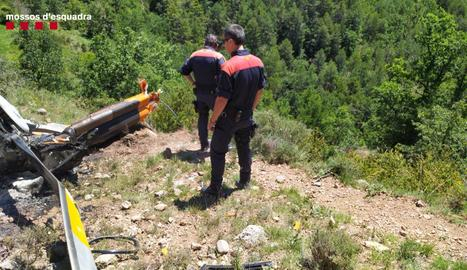 S'estavella un helicòpter i moren el seus dos ocupants a l'Alt Urgell