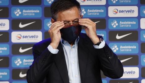 Bartomeu està convençut que Messi seguirà molts anys.