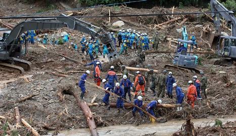 Més de mig centenar de morts per inundacions al Japó