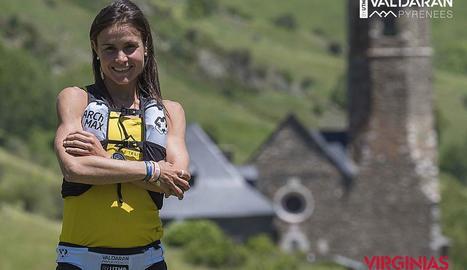 L'atleta d'Agramunt Sílvia Puigarnau.