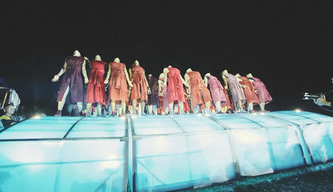 Espectacle 'Power of Diversity', de la companyia alemanya Pan.Optikum, que també va recolzar la UE.
