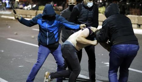 Disturbis a Belgrad a l'anunciar-se noves restriccions