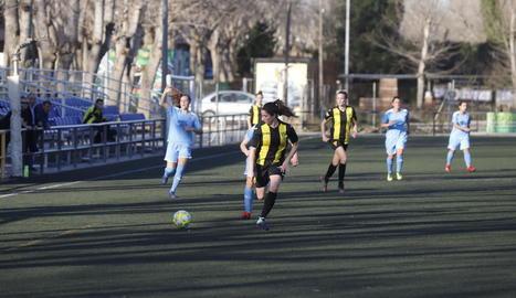Un partit de l'equip del Pardinyes femení.