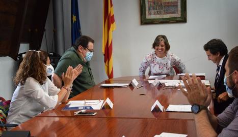 Josefina Lladós ja és presidenta del consell de l'Alt Urgell.