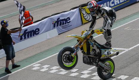 Ferran Cardús, pilot del Suzuki Gran Racing.