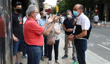 Indignación ciudadana y de las empresas en Lleida por las nuevas medidas