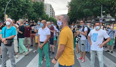 Protestes, diumenge, a Lleida.