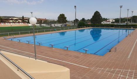 Una de les piscines públiques de Fraga.