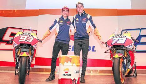 Honda va confirmar ahir que Marc i Àlex Márquez només seran companys aquesta temporada.