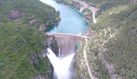 Imatge d'arxiu de la presa de Camarasa.