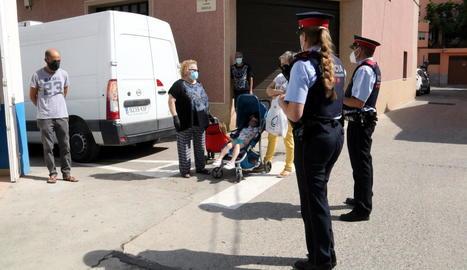 Primeres patrulles de Mossos als pobles del Baix Segre