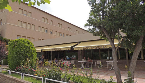 Imatge d'arxiu de la residència Sant Domènec de Balaguer.