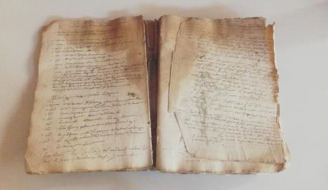 Restauren el 'Llibre de la Cort del Batlle de Guimerà', del segle XVI