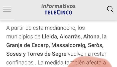 El lapsus de Telecinco amb Sucs.