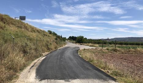 El camí de les Ventoses de les Borges Blanques.
