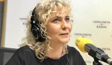 Mònica Terribas, a Matí de Catalunya Ràdio'.