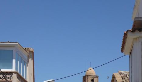 Imatge d'arxiu d'una vista d'Algerri.