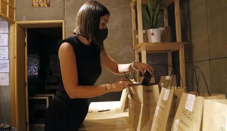Restaurants de Lleida tornen a dependre del servei a domicili